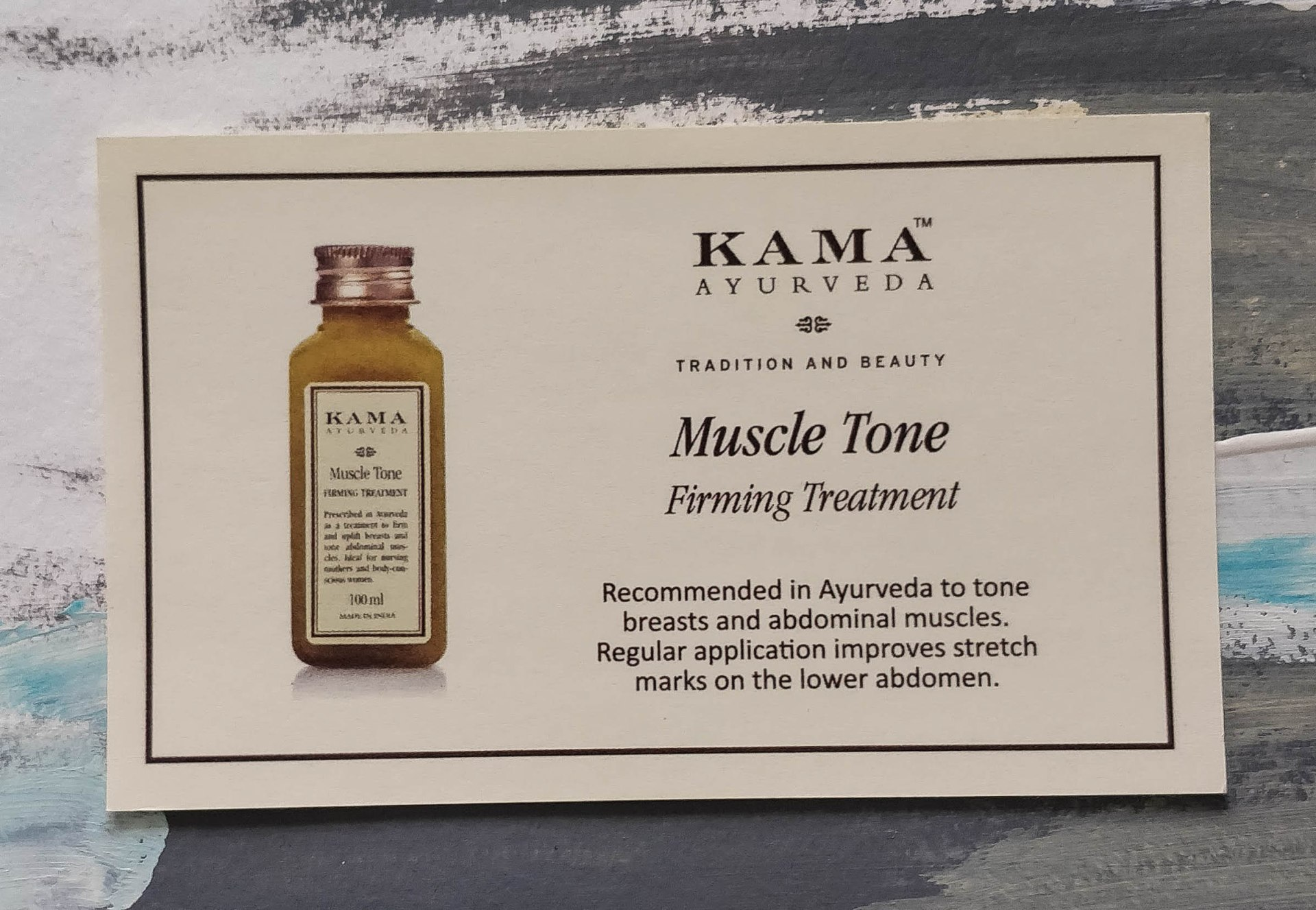 Kama Ayurveda Muscle Tone Firming Treatment