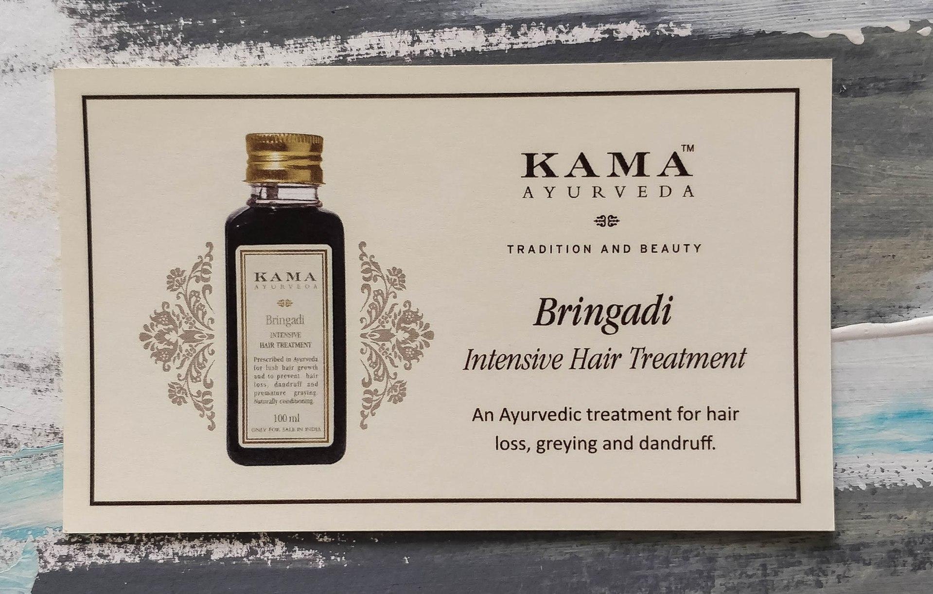 Kama Ayurveda Bringadi Intensive Hair Treatment
