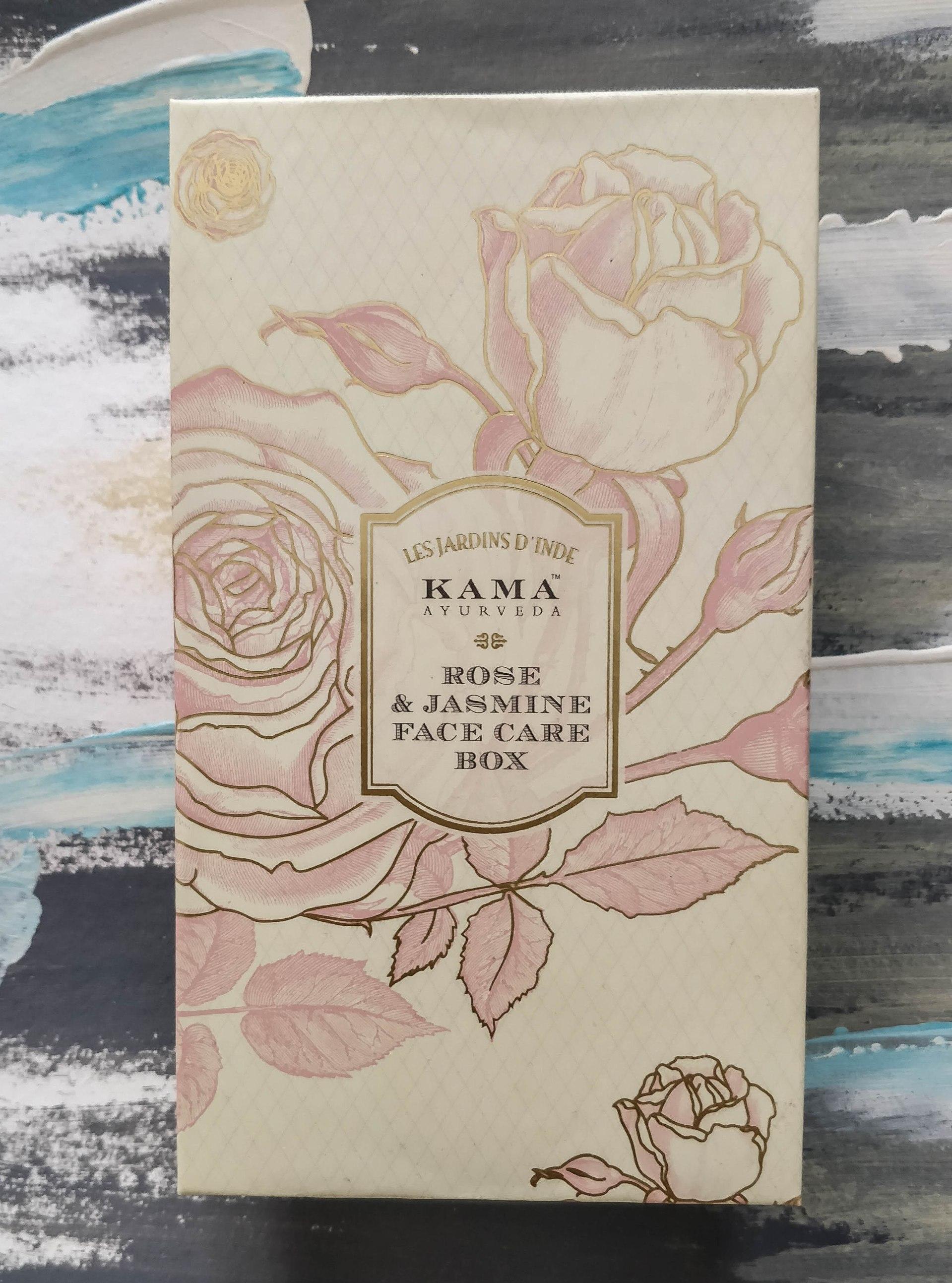 Kama Ayurveda Rose & Jasmine Face Box
