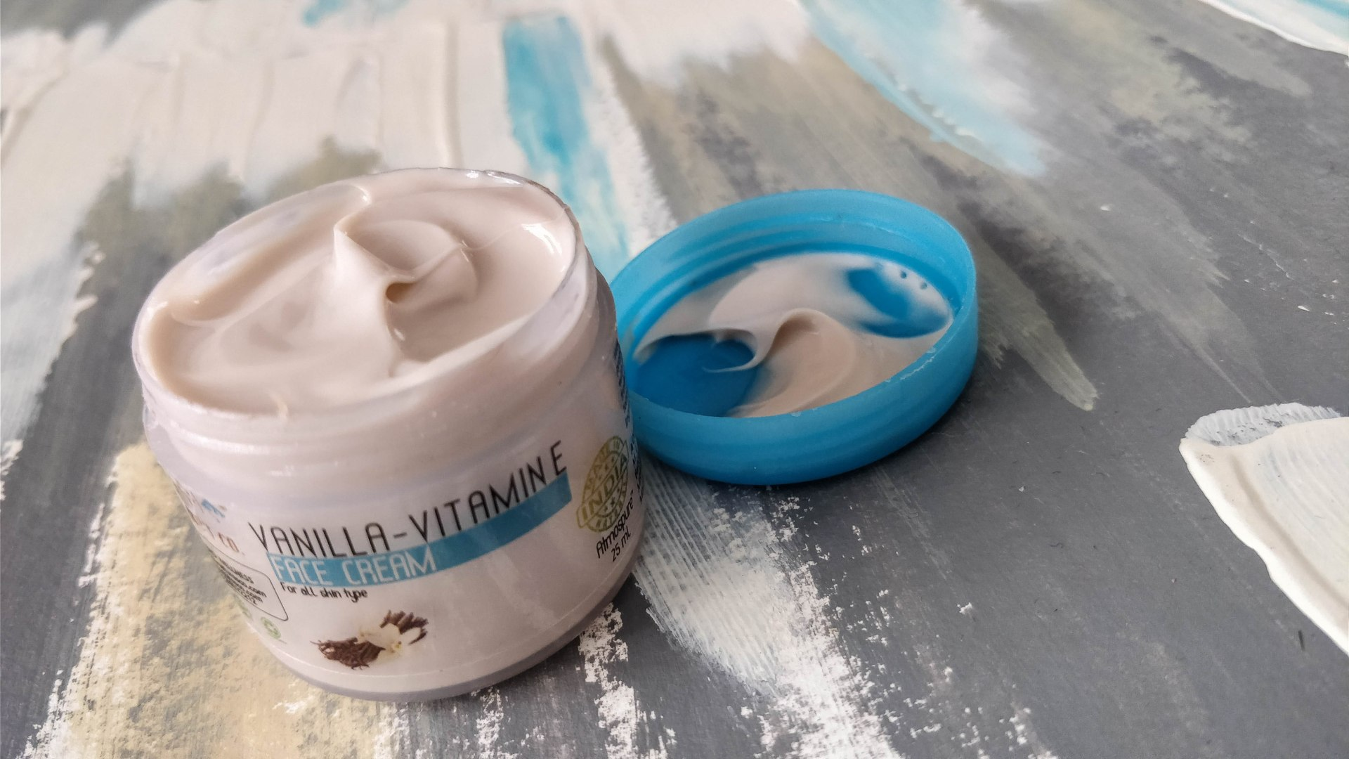 The Natures Co. Vanilla Vitamin E Face Cream