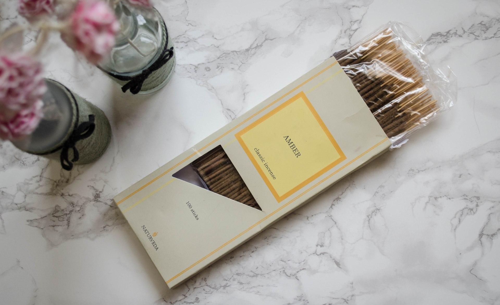 Naturveda Amber Incense