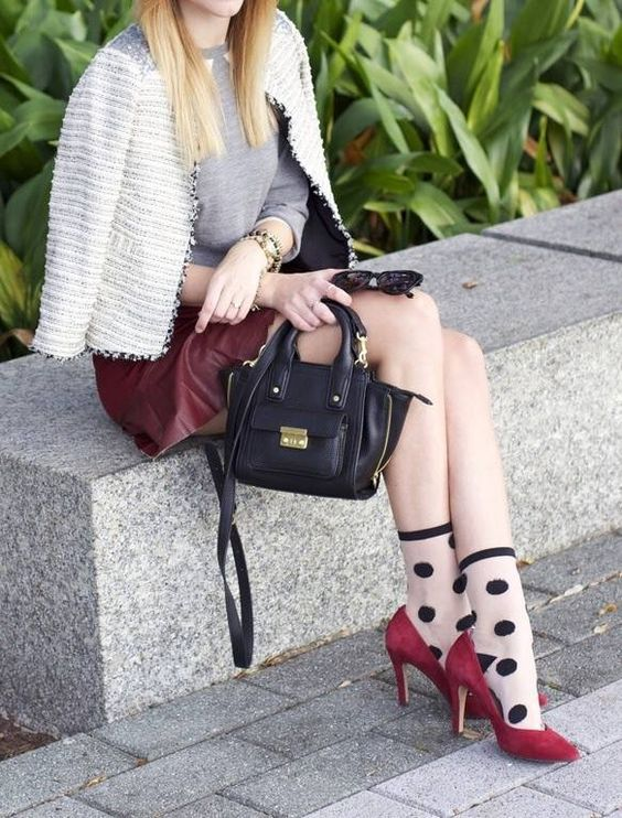 Heels and Socks Trend